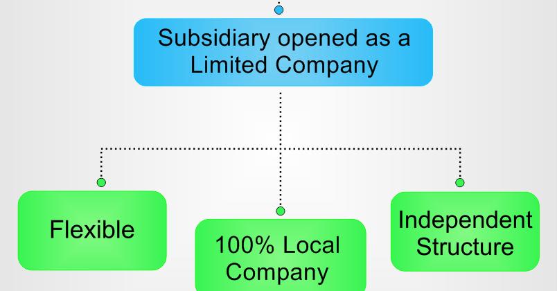 تأسيس الشركات الفرعية في دبي